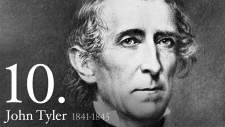 10 - John Tyler