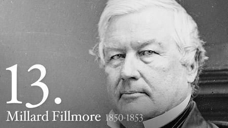 13 - Millard Fillmore