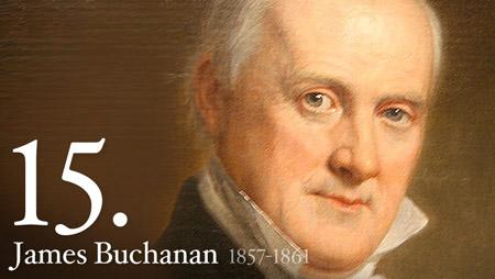 15 - James Buchanan