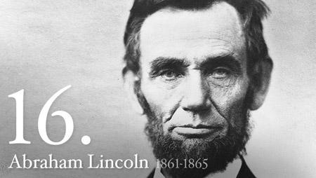 16 - Abraham Lincoln