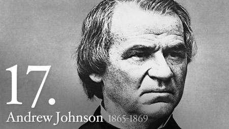 17 - Andrew Johnson