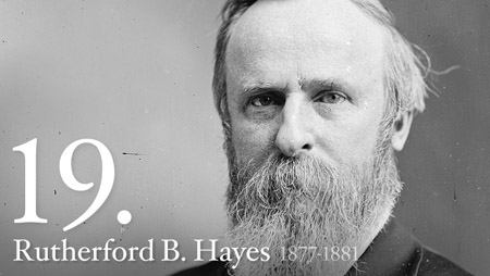 19 - Rutherford Hayes