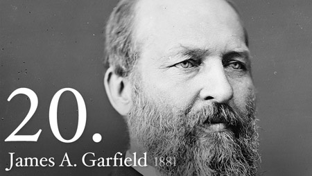 20 - James Garfield