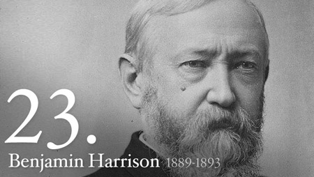 23 - Benjamin Harrison