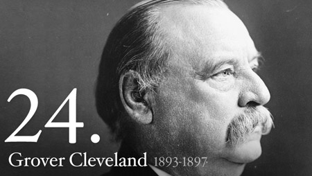24 - Grover Cleveland