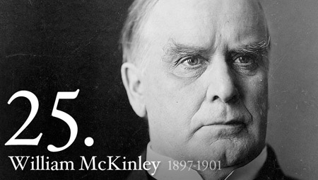 25 - William McKinley