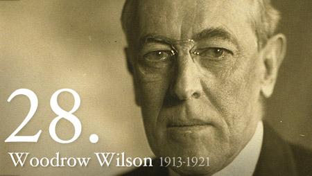 28 - Woodrow Wilson