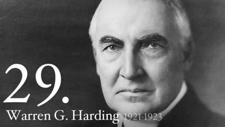 29 - Warren Harding