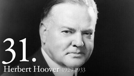 31 - Herbert Hoover