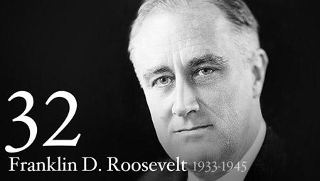 32 - Franklin Roosevelt