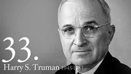 33 - Harry Truman