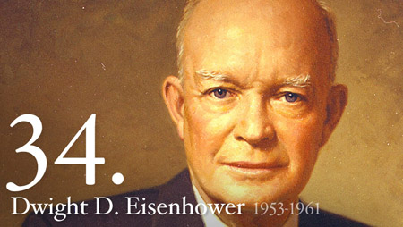 34 - Dwight Eisenhower