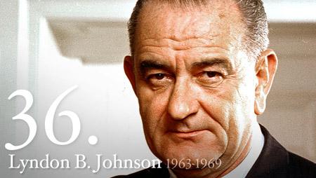 36 - Lyndon Johnson