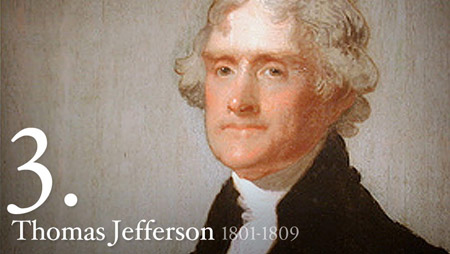 3 - Thomas Jefferson