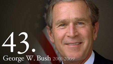43 - George W Bush