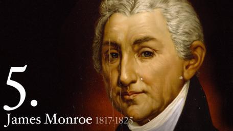5 - James Monroe