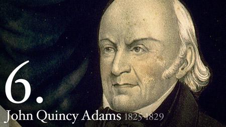 6 - John Quincy Adams