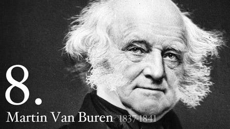 8 - Martin Van Buren