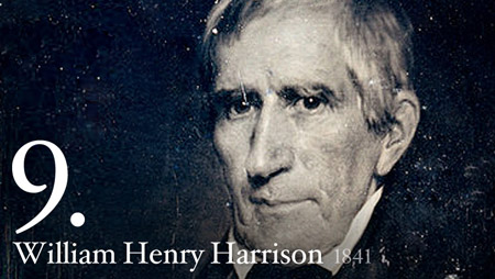 9 - William Henry Harrison